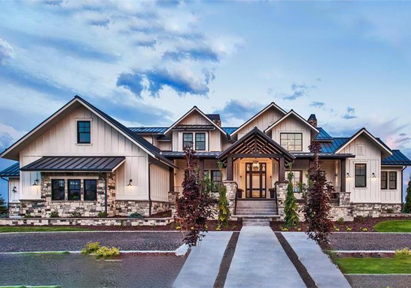 luxury build homes